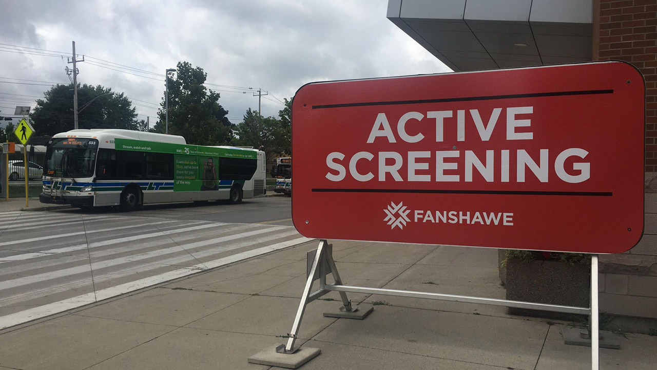 Header image for the article Fanshawe reopening a soft launch for September