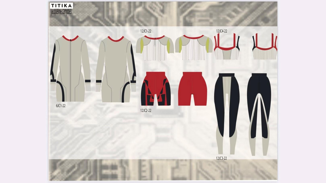 Header image for the article Fashion design students win big with the TITIKA Challenge
