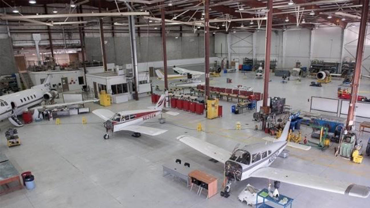 Header image for the article Fanshawe's aviation school looks to the future with name change