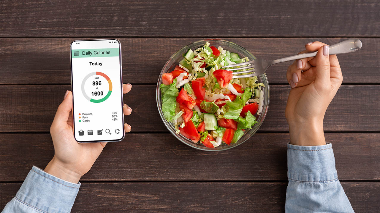 Header image for the article Five apps for weight loss