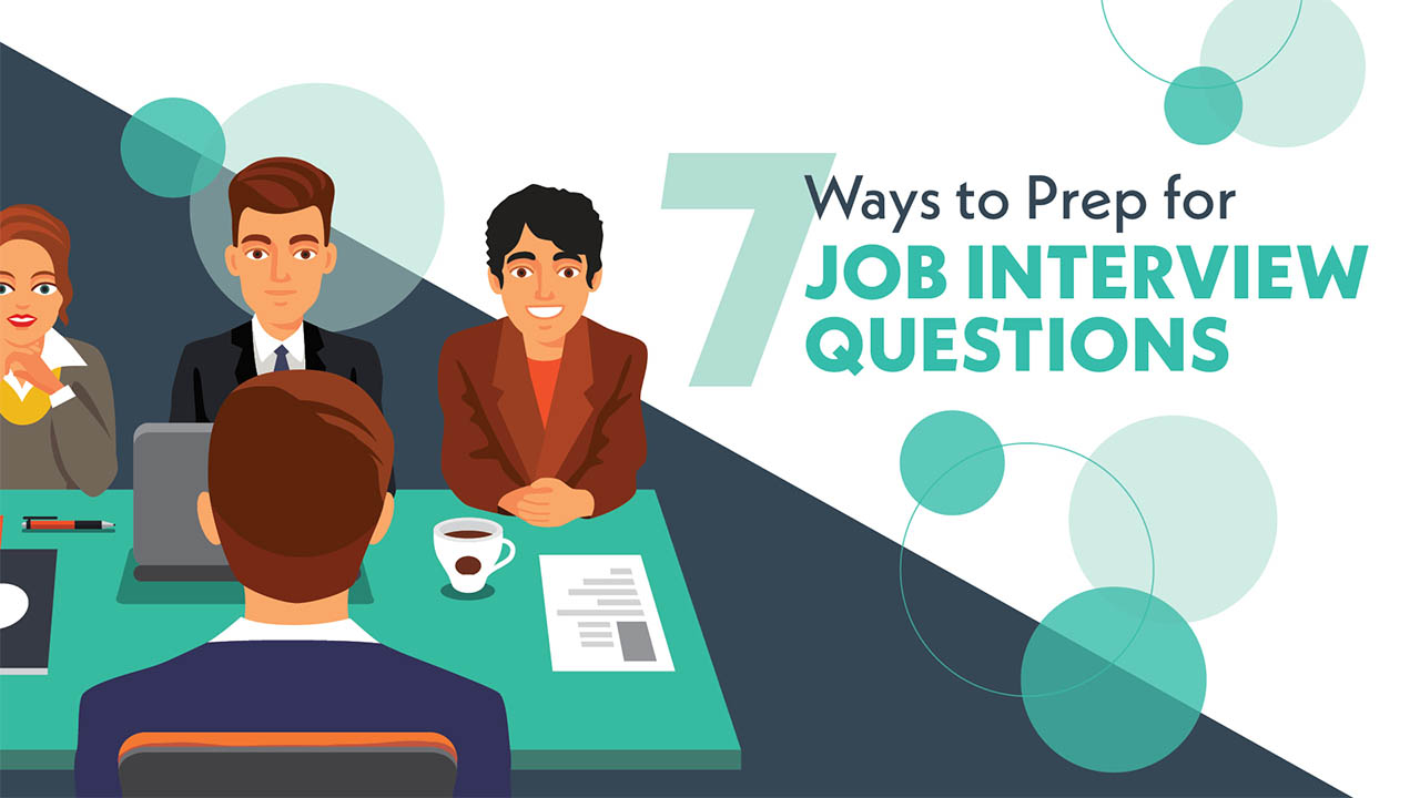 7 ways to prep for job interview questions