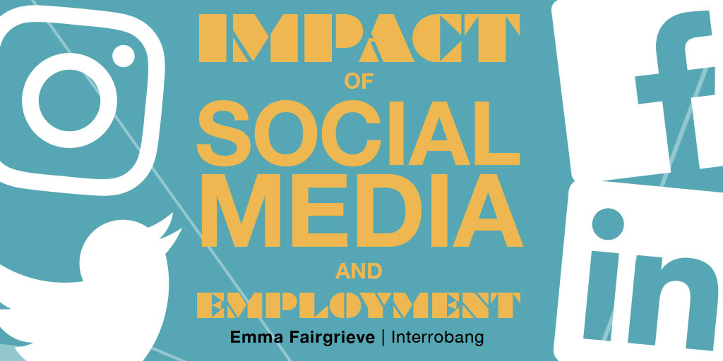 Header image for the article Impact of social media and employment