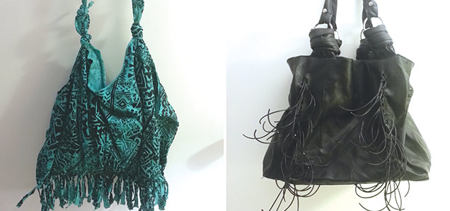 Header image for the article Frugal Fashionista makes: DIY Fringe Bag