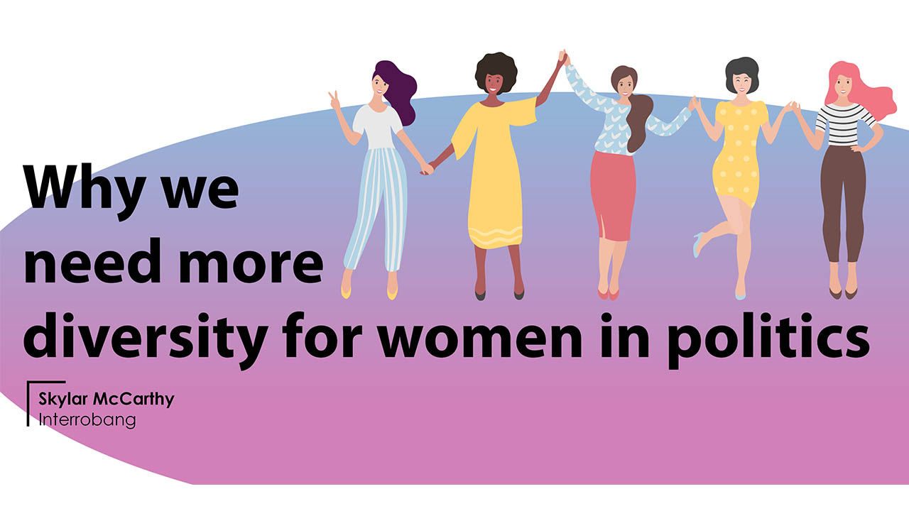 Header image for the article Why we need more diversity for women in politics