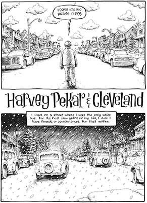 Header image for the article In The Hands of Heroes: Harvey Pekar takes you deep into Cleveland's history