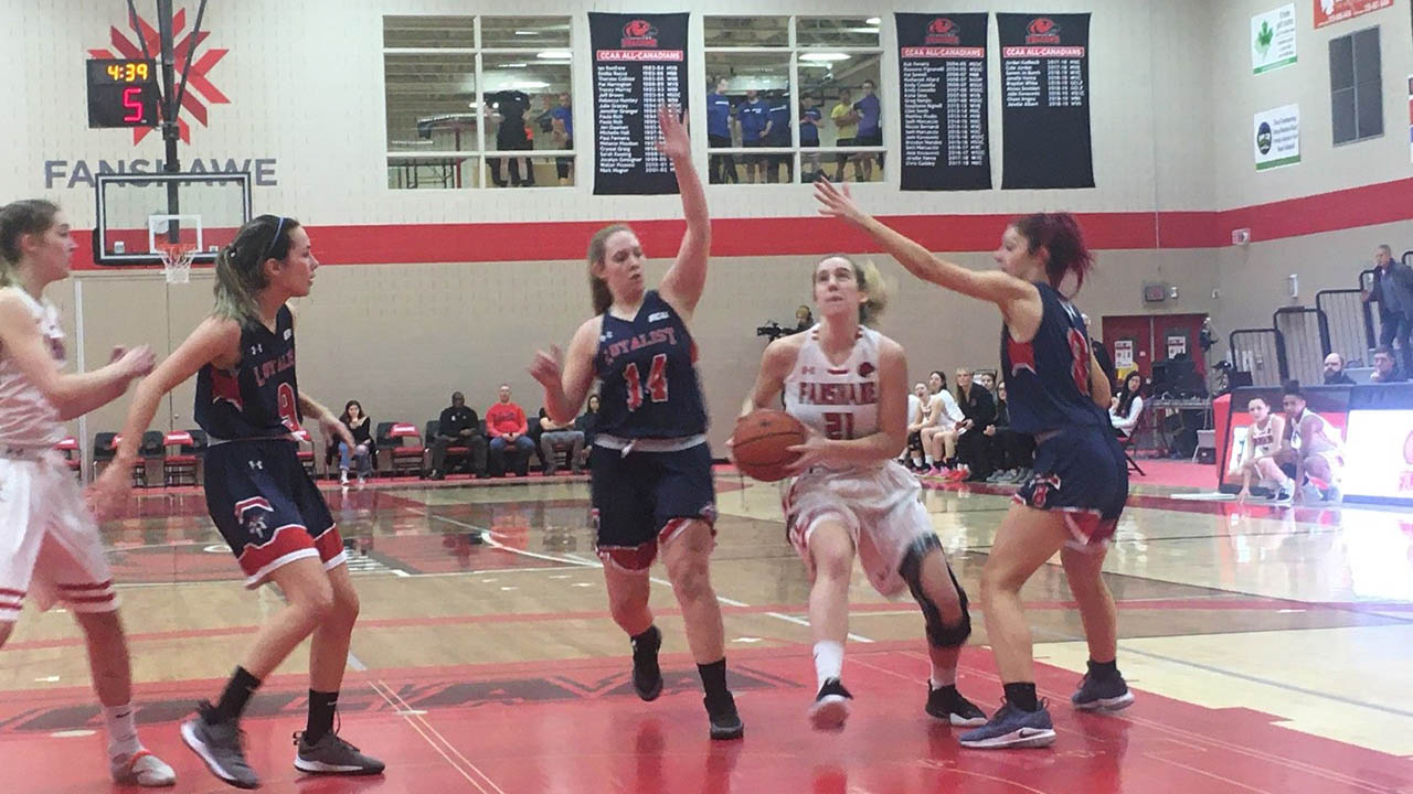 Header image for the article Women's basketball team clinches Provincial Championship spot