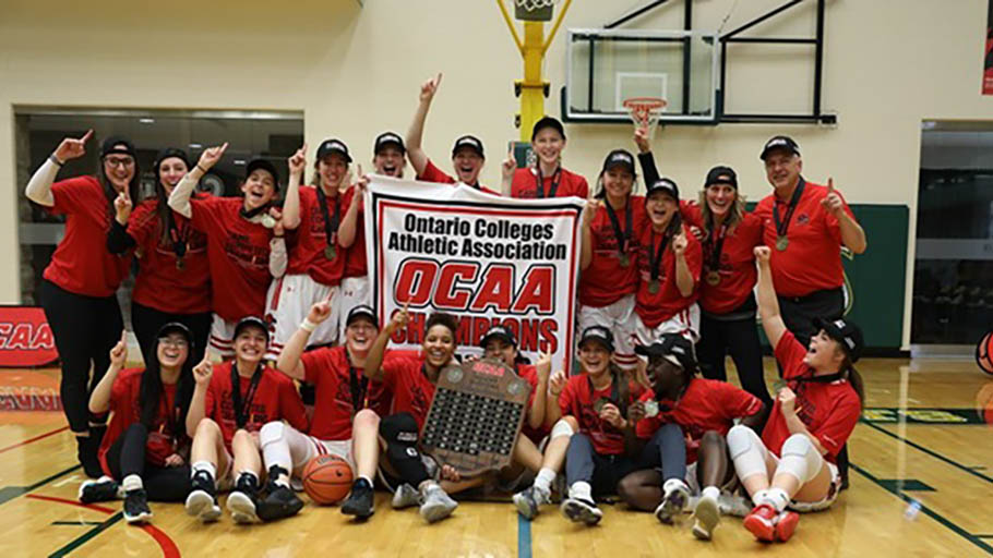 Header image for the article Women's basketball advances to Nationals