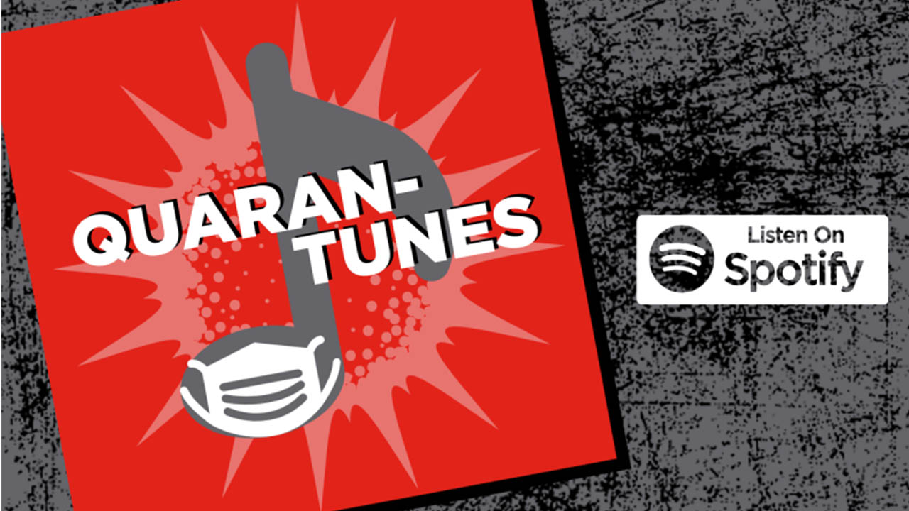 Header image for the article Quaran-tunes celebrates Fanshawe students and alums
