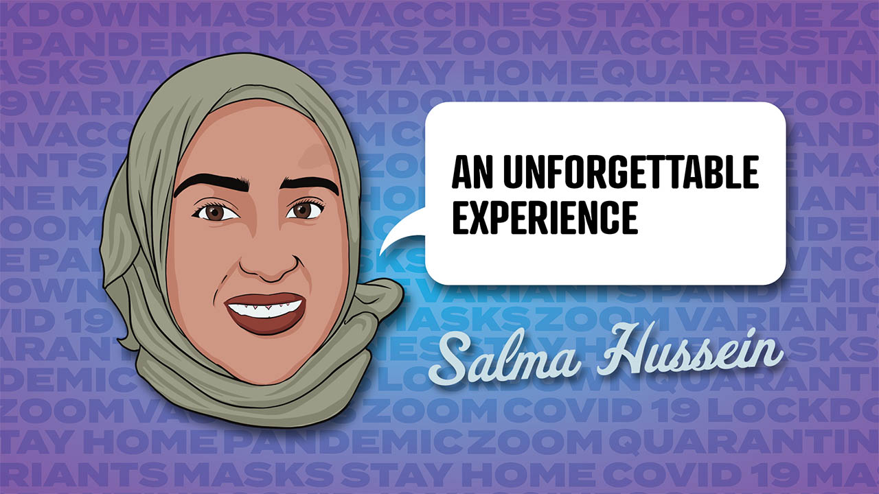 Salma Hussein - An unforgettable experience