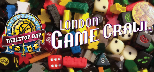 Header image for the article London to become board game central again