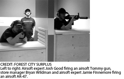 London's first airsoft range opens
