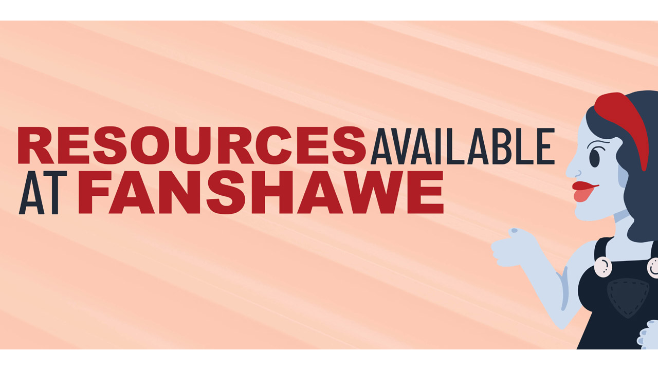 Header image for the article Resources available at Fanshawe