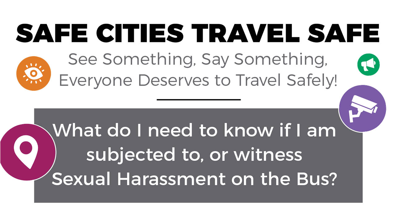 Header image for the article Travel safe: New campaign tackles sexual violence on city buses