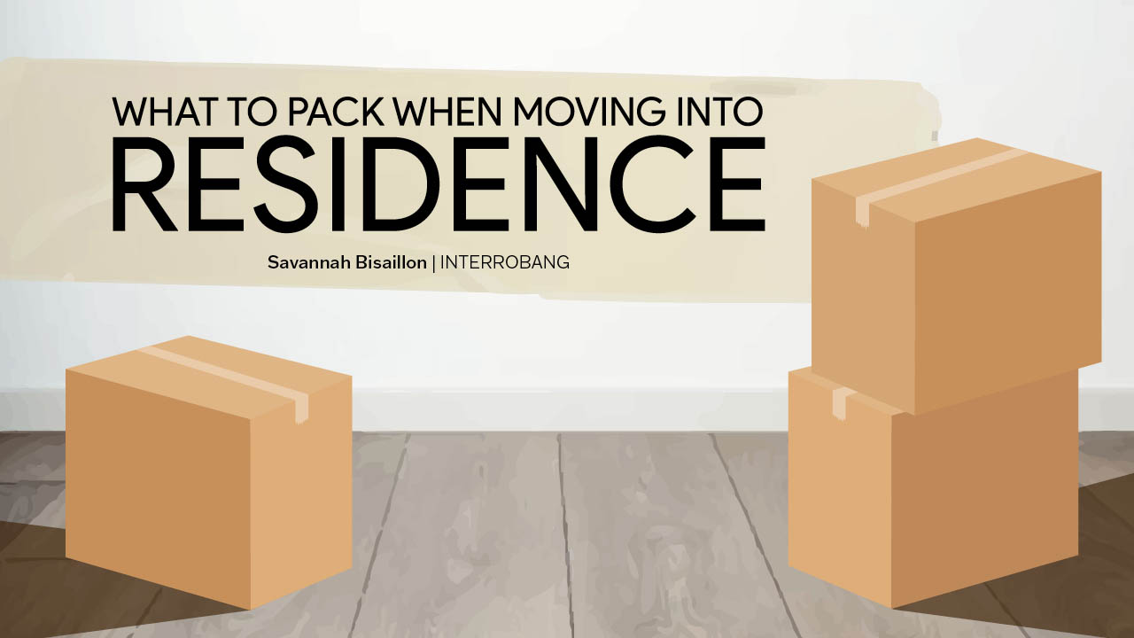 Header image for the article What to pack when moving into Residence