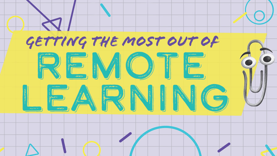 Header image for the article Getting the most out of remote learning