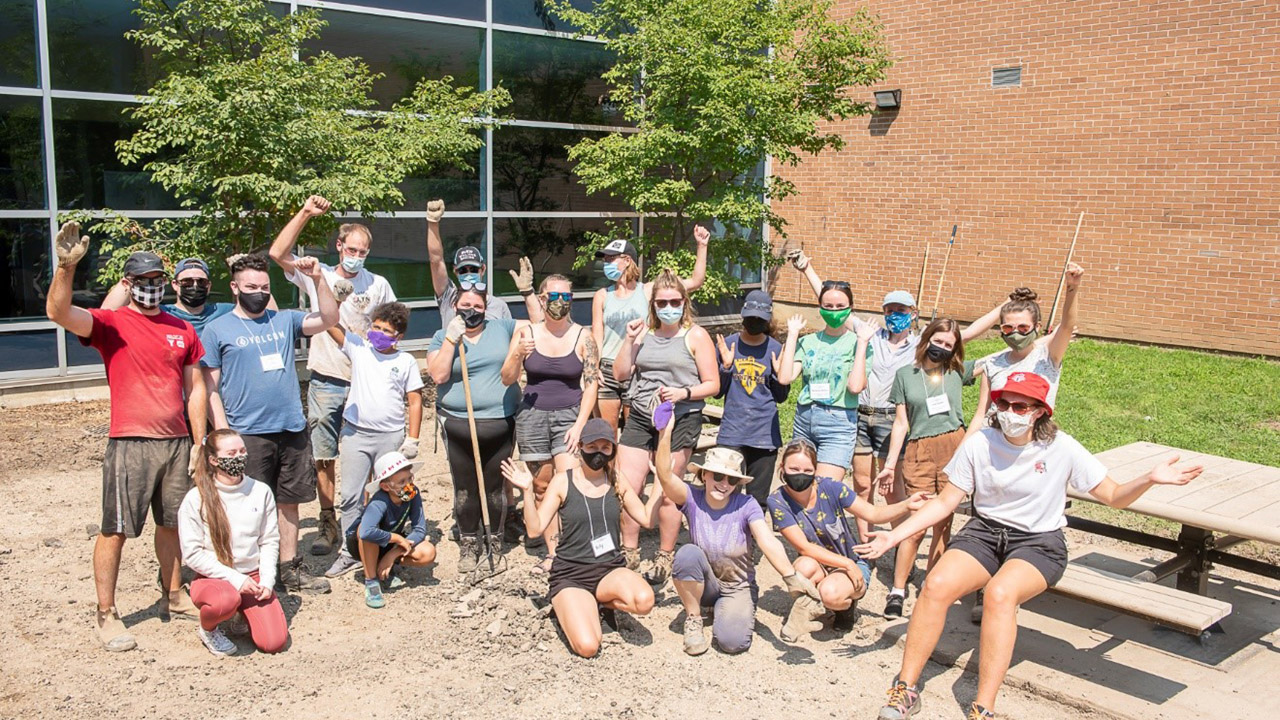 Header image for the article Fanshawe goes green with Depave Paradise project
