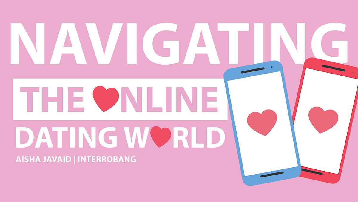 Header image for the article Navigating the online dating world