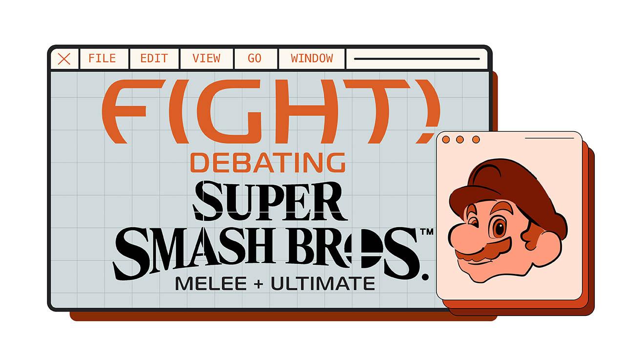 Header image for the article Fight! Debtating Super Smash Bros. Melee + Ultimate