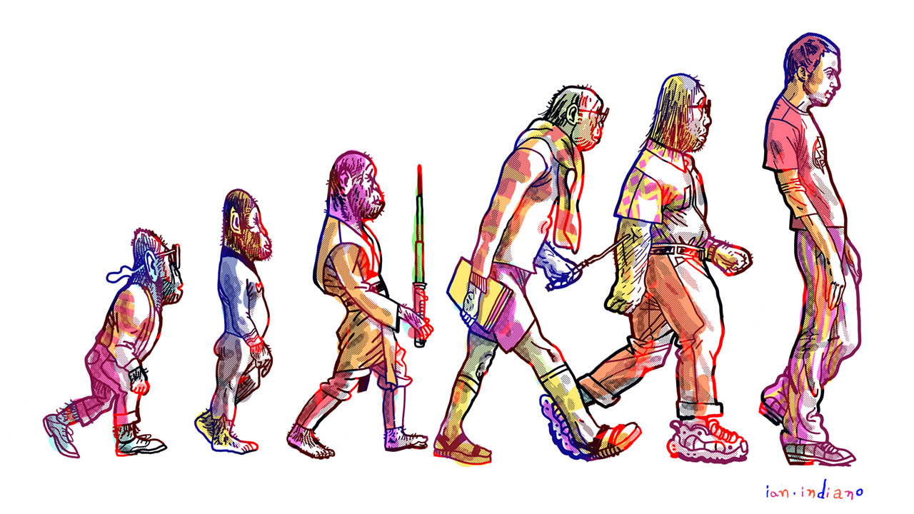 Header image for the article The evolution of the nerd