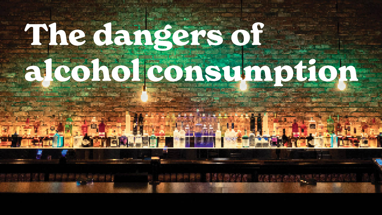 Header image for the article The dangers of alcohol consumption