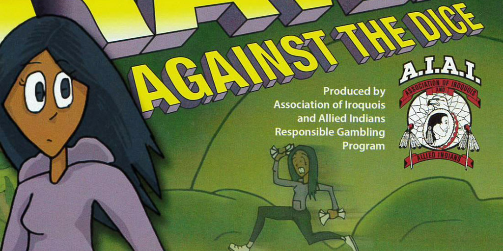 Header image for the article Debut of AIAI's Indigenous comic at Forest City Comicon