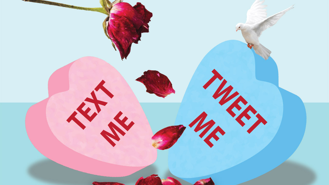 Header image for the article Students are still searching for love in a pandemic