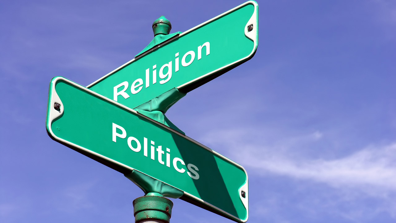 Header image for the article How do politics and religion relate?