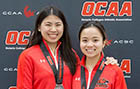 Badminton duo heads to Nationals